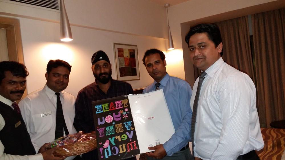 51st Visit Celebration of Mr. Singh
