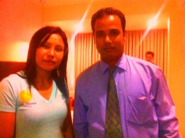 Glad to Host Ms Sarita Devi (Nov`14) - National and Former World Boxing Champion