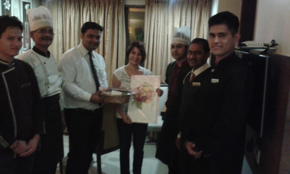 60th Visit Celebration of Ms. Tina Varela